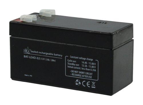 HQ 12V 1.3Ah universale batteria ricaricabile al piombo acido sigillata