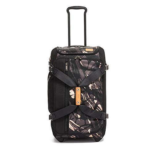 TUMI - Merge Wheeled Duffel Carry-On Luggage - 22 Inch Rolling Suitcase for Men and Women - Grey Highlands Print