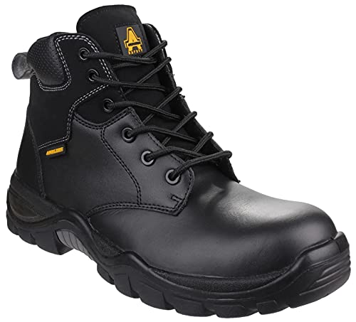 Amblers Safety Unisex AS302C Preseli Non-Metal Lace up Safety Boot Black Size UK 10.5 EU 45