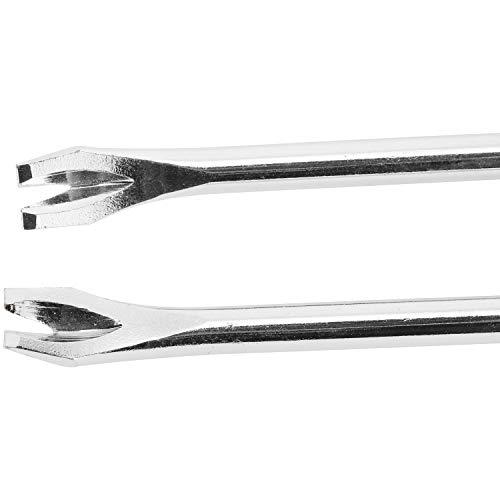 YaeCCC 3 Pack Tack Lifter 3 mm U Tip Nail Staple Rivet Tack Puller Staple Remover Screwdriver Tool