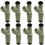 JDMSPEED New Set (8) 36lb Fuel Injectors Replacement For Ford GM V8 LS1 LT1 5.0L 5.7L 380cc