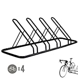 CyclingDeal 1-4 Bike Floor Parking Rack Storage Stand Bicycle