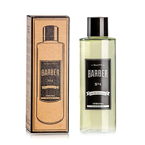 MARMARA BARBER Eau de Cologne Homme 500ml No.4 dans Le Flacon After Shave Men Eau de rasage Homme, Rafraîchit se rafraîchit long parfum désinfectant hommes 70% alcool