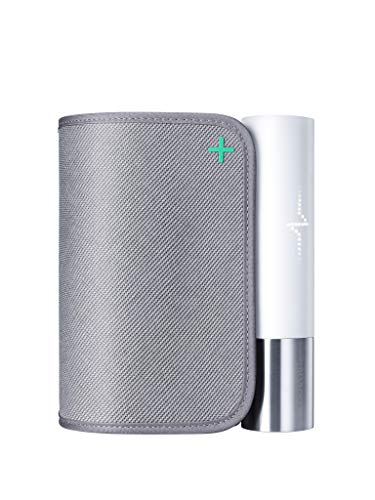 Withings Bpm Core - Tensiómetro inteligente con Electrocardiograma y Estetoscopio digital, Gris