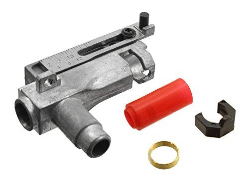 SHS Metall Hop Up Unit Set für AK Softair/Airsoft AEGs - Komplettset inkl. HopUp Gummi