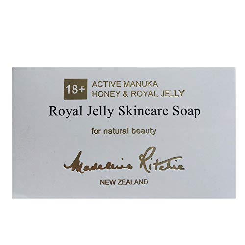 Madeleine Ritchie New Zealand Royal Jelly Skincare Soap 125g For natural beauty