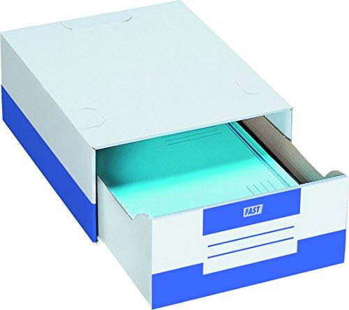Elba 100725929 - Caja de 10 módulos de cajón, cartón microcanal