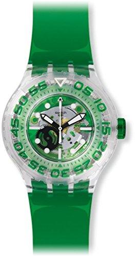 Swatch Reloj Analógico para Unisex de Cuarzo con Correa en