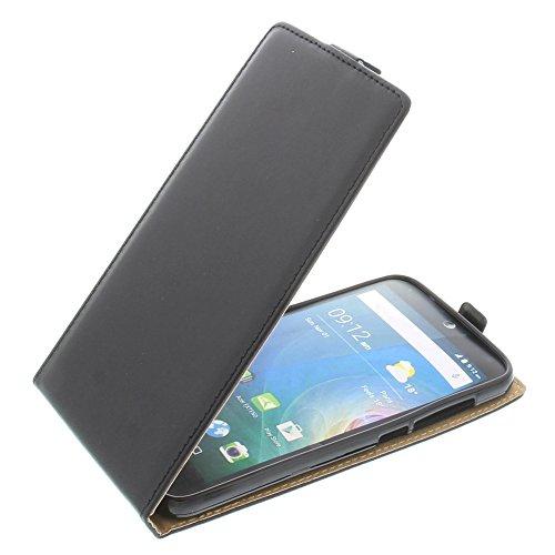 foto-kontor Tasche für Acer Liquid Z630 Liquid Z630S Liquid M630 Smartphone Flipstyle Schutz Hülle schwarz