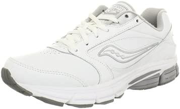 Saucony Women's Echelon LE2-W, White/Silver, 5.5 W US