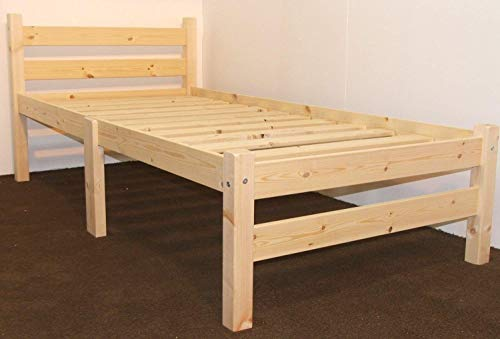 Strictly Beds and Bunks - Pine Bed Frame, 3ft Single