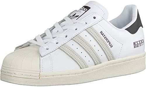 adidas Herren Superstar Sneaker, Blanco/Negro, 43 1/3 EU