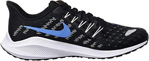 Nike Air Zoom Vomero 14, Zapatillas para Correr para Hombre, Black University Blue White Psychic Blue, 43 EU