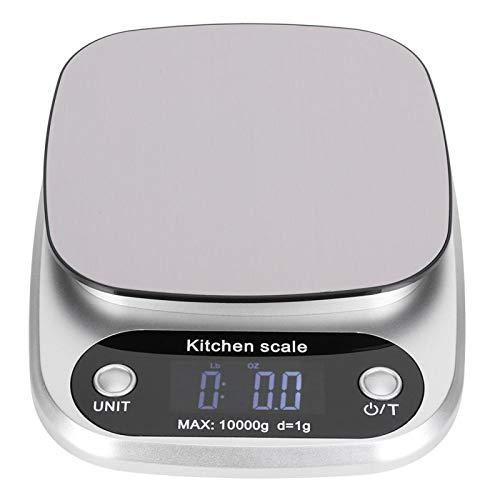 Balance de cuisine numérique, échelle de cuisson en acier inoxydable de 10000g Max Pocket Scale, pour la cuisine à domicile(CH-305)