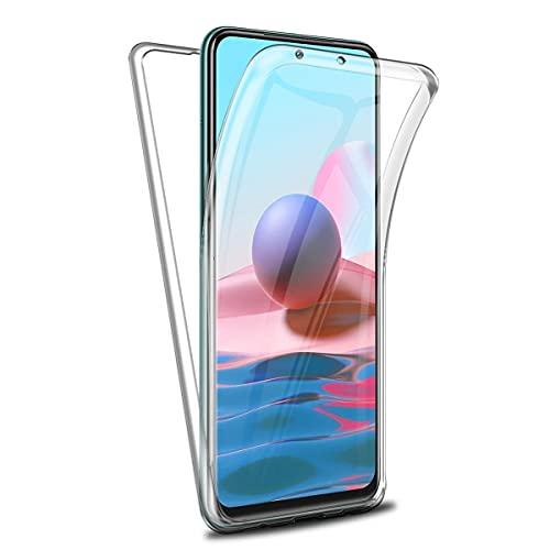 Funda para Xiaomi Redmi Note 10 4G, 360°Full Body Protecci