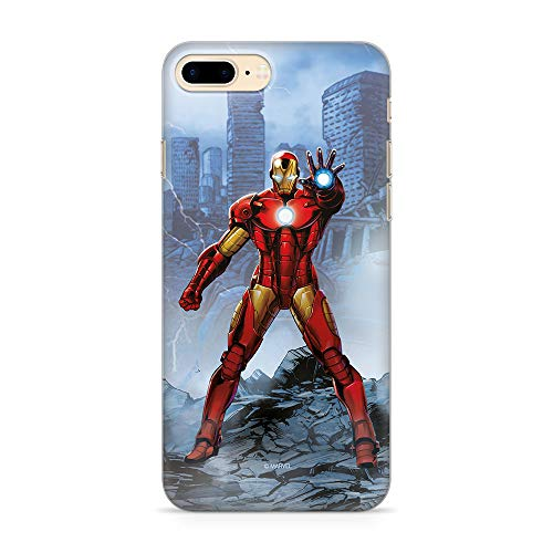 Ert Group MPCIMAN1623 Marvel Cubierta del Teléfono Móvil, Iron Man 006 iPhone 7 Plus/ 8 Plus