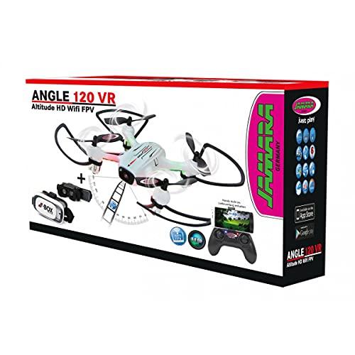 Jamara - Cuadricópter Angle 120 Altitude HD Wi-Fi VR (422029)