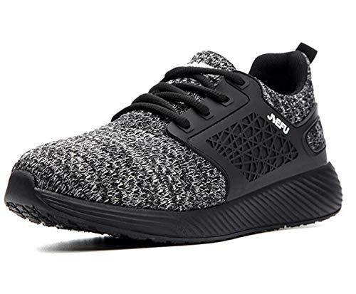 Zapatos de seguridad para hombre zapatos de acero puntera Cap entrenadores ligeros zapatos de trabajo transpirable deporte zapatillas, color, talla 38/44 EU