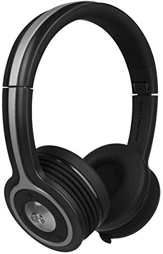 Monster iSport Freedom Bluetooth Wireless On-Ear Headphones - Black,...