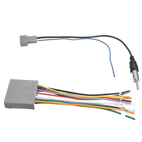 Antena de DVD del arnés de cable del reproductor de radio estéreo del coche para Honda para Odyssey/para Civic CR-V