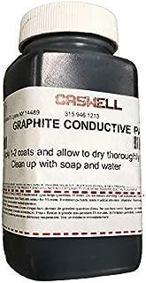 Caswell Graphite Conductive Paint - 4 fl oz Bottle