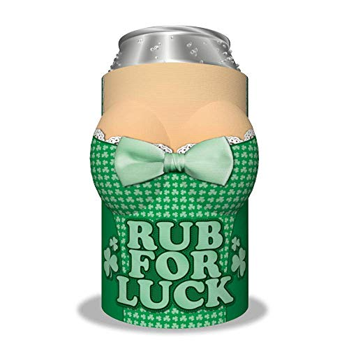 "Boobzie ""Rub For Luck"" Insulated Can Cover"