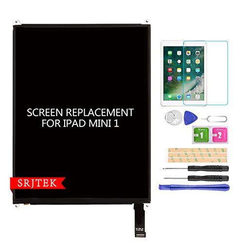 SRJTEK Parts LCD Display Screen for iPad Mini 7.9' A1432 A1455 A1454 LCD Display Screen Panel