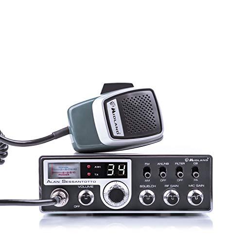 Midland ALAN SESSANTOTTO - Multi Band CB Radio Advanced Multi Band Vehicle...