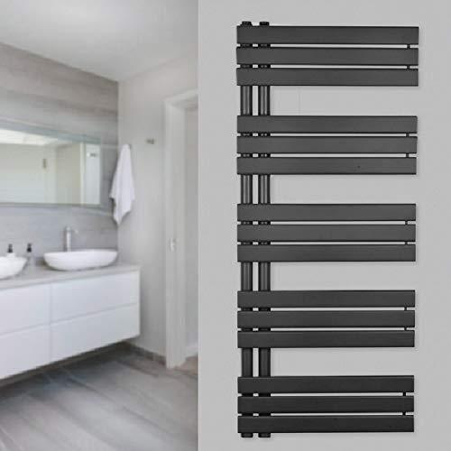 Zimmerheld Design Heizkörper Paneelheizkörper Heat Free Handtuchwärmer Heizung Badheizung, Farbe: Anthrazit, Größe: 60cm x 164cm