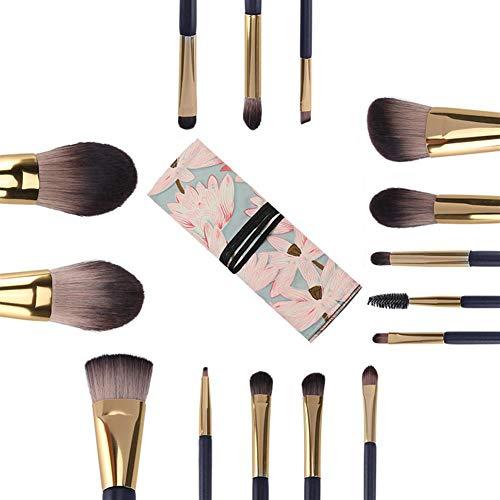 LIANGJING Set Ombre à paupières de pinceaux Brosse de beauté Haut de Gamme Brosse Brosse de Maquillage Professionnel Outils de beauté,C