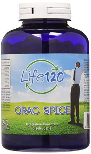 OneLife Life 120 Orac Spice - 240 compresse