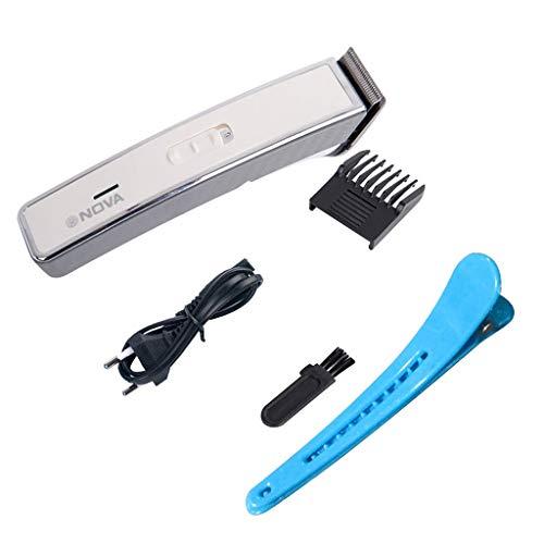 Haarschneider Maschine Haarschneider Herren Akku Haarschneidermaschine Profi Haarscherer Hairtrimmer Männer mit Clip und Reinigungsbürste