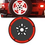 SUNPIE Spare Tire 3rd Third Brake Light Lamp for Jeep Wrangler JK LJ YJ CJ 1997-2017