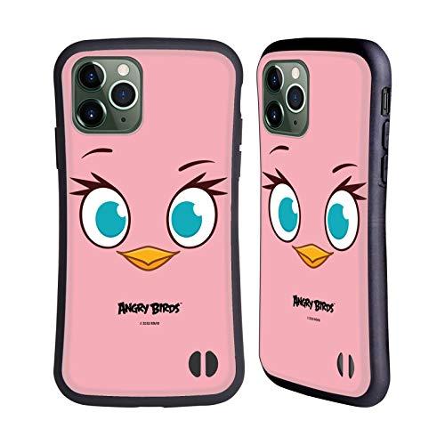 Head Hülle Designs Offiziell Offizielle Angry Birds Pink Volles Gesicht Hybride Handyhülle Hülle Huelle kompatibel mit Apple iPhone 11 Pro