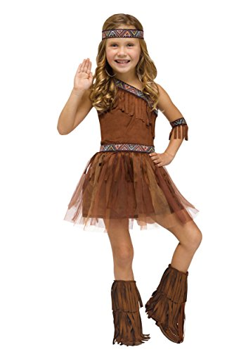 Fun World Give Thanks Toddler Costume, Large 3T-4T, Multicolor