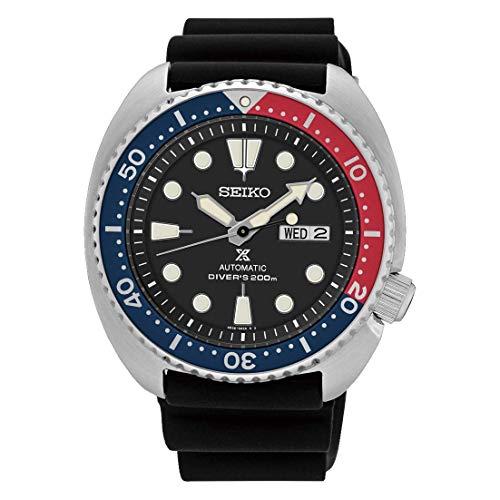 Reloj Seiko Prospex Automatic Manual Steel Silicone 200m SRPE95K1