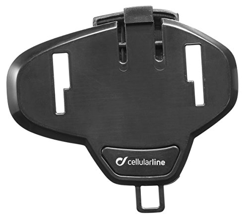 Cellularline kitadbracketsp Kit Adhesivas de Casco Moto para Bluetooth CellularLine Deporte/Tour/Urban