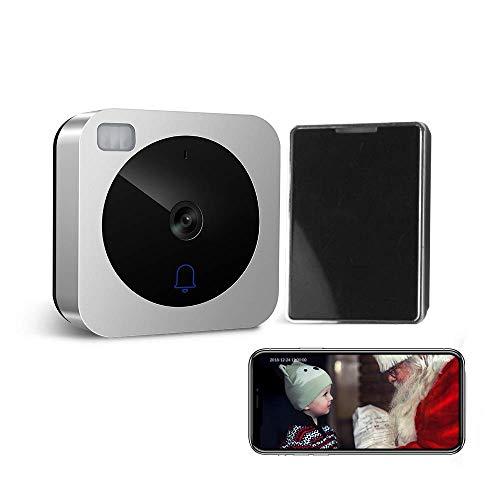 VueBell Smart citofono porta HD Campanello per videocitofono a porte chiuse WiFi con telecamera notte...
