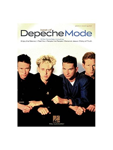 Depeche Mode: Best Of. Partitions pour Piano, Chant et Guitare