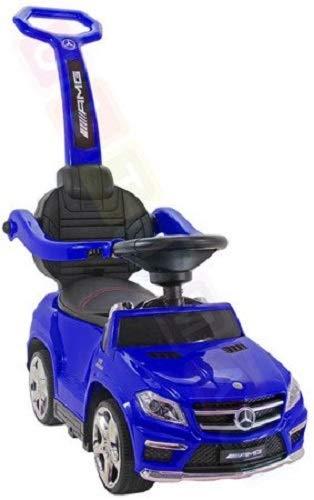BSD Coche para niños Correpasillo con función de Mecedora: Mercedes GL63 AMG SX1578 - Azul