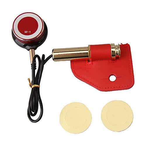 BQLZR Violin Microphone Pickup Guitar Pickup Dia 3.1-3.61cm with Self Adhesive Tablet