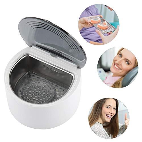 NEUFDAY-Ultrasonic Denture Cleaner Retainer Mundschutz-Reinigungsmaschine(EU220V)