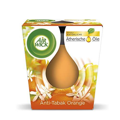 Airwick feel-good geurkaars anti-tabac-oranje 105 g