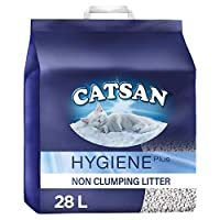 Catsan Hygiene Plus Litter is a good choice for you and your feline friend, thanks to the active ingredients which prevent the growth of bacteria, helping your cat litter tray stay hygienic Each granule of Catsan Hygiene Cat Litter ensures reliable a...