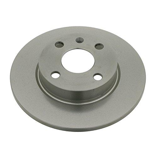 Preisvergleich Produktbild febi bilstein 23553 Bremsscheibensatz (2 Bremsscheiben) hinten,  voll,  Lochanzahl 4