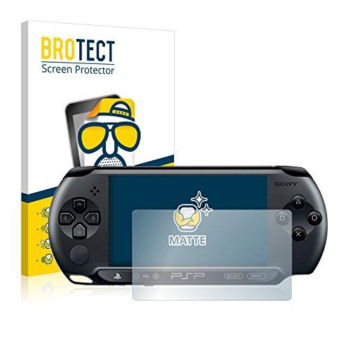 BROTECT 2X Entspiegelungs-Schutzfolie kompatibel mit Sony PSP 1000 Displayschutz-Folie Matt, Anti-Reflex, Anti-Fingerprint
