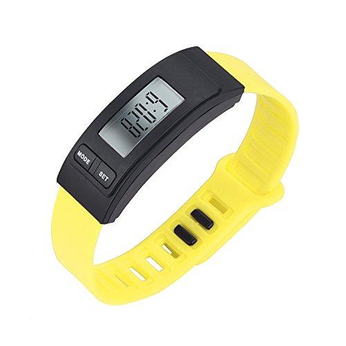 WoWer Fitness Armband mit Pulsmesser Wasserdicht IP67 Fitness Tracker Smartwatch Aktivitätstracker Pulsuhr Schrittzähler Uhr Sportuhr für Damen Herren