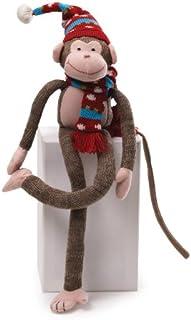 "GUND Fun Christmas Knit Monkey 16"" Plush"