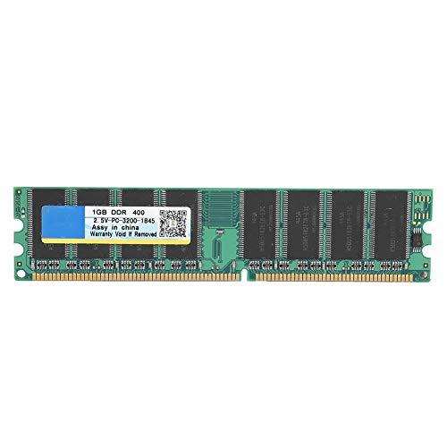 Bewinner PC-3200 DDR, DDR 400Mhz 1G 184Pin para la Memoria RAM de la Placa Madre de Escritorio, aplicable a la computadora de Escritorio PC-3200 DDR, Compatible con la Placa Madre Intel/AMD