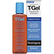 Neutrogena T/Gel Therapeutic Shampoo, Original Formula, for long-lasting relief of itching and flaking, 250mL